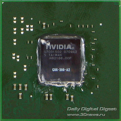 ECS 8500GT, video chip