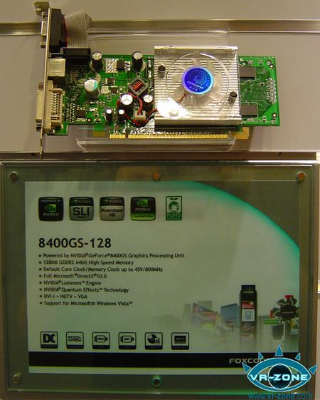 Foxconn GeForce 8400 GS