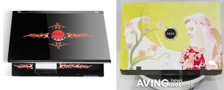 Computex 2007: Женский ноутбук GX700 в исполнении MSIg
