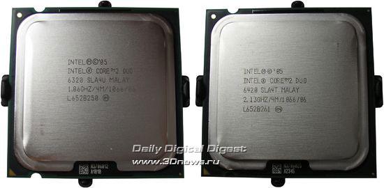 Intel Core 2 Duo E6320 и Intel Core 2 Duo E6420