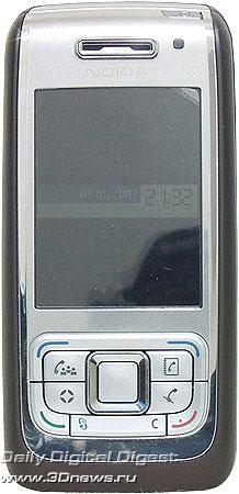 Nokia E65. Вид спереди