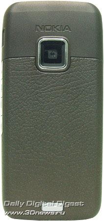 Nokia E65. Вид сзади