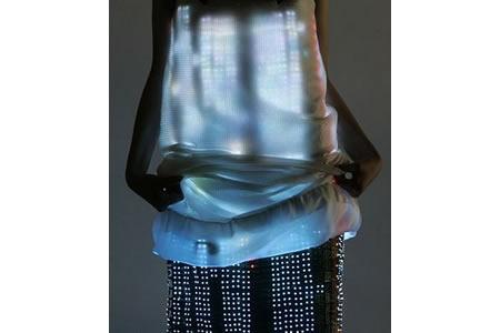 Платье будущего от Swarovsk