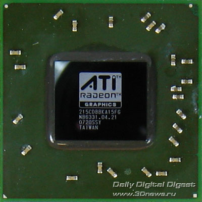 Sapphire HD2600 Pro video chip