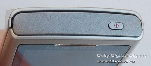 Samsung SGH-U600. Круглый навигатор