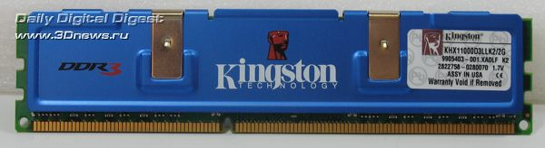 Kingston HyperX DDR3 KHX11000D3LLK2/2G