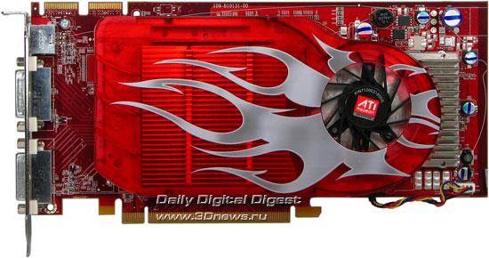ATI HD2600XT DDR4 256 MB, front view