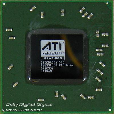 ATI HD2600XT DDR4 256 MB, video chip