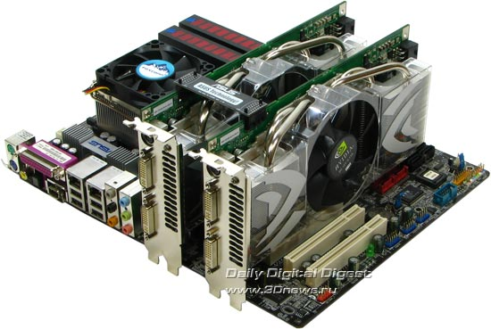 NVIDIA GeForce 7900GTX SLI