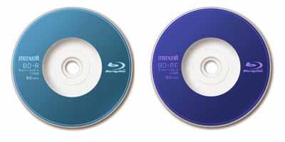 Hitachi Maxell 8 cm BD-R and BD-RE Discs