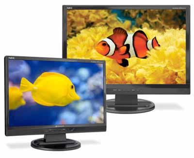 Мониторы NEC AccuSync LCD19WMGX, LCD22WMGX и LCD24WMCX - от 19 до 24 дюймов для игр и развлечений.  Hardware.
