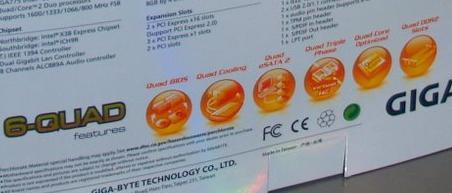 Плата GIGABYTE на базі Intel X38