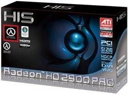 HIS Radeon HD 2900 Pro in box