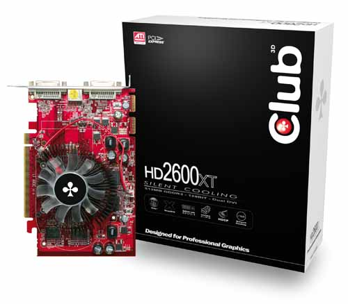 Club 3D HD2600 XT 512MB