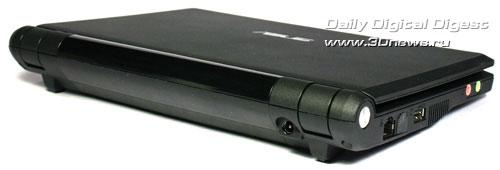 ASUS Eee PC 701 задняя панель