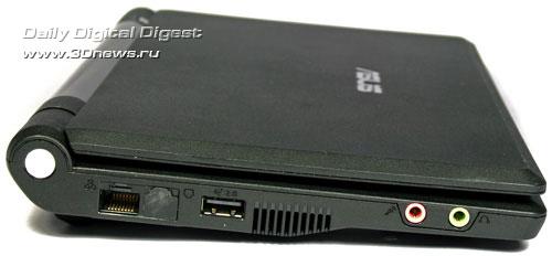 ASUS Eee PC 701 слева