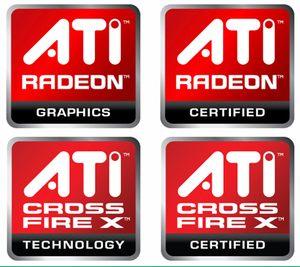 AMD Radeon and CrossFireX Logo
