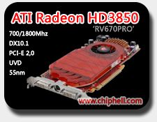 Radeon HD 3850 by ChipHell