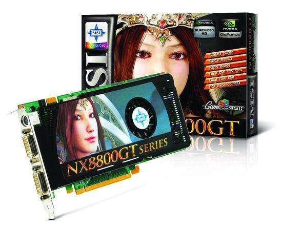 MSI NX8800GT