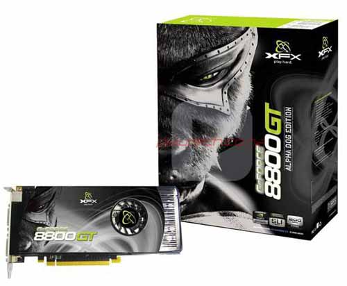 XFX xXx Edition GeForce 8800 GT 512MB
