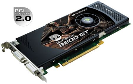 ECS GeForce 8800 GT - N8800GT-512MX