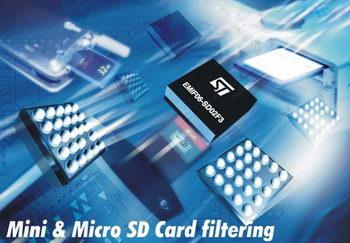 ...миниатюрный чип EMIF06-SD02F3, который обладает всеми функциями, необходимимы для создания такого интерфейса.