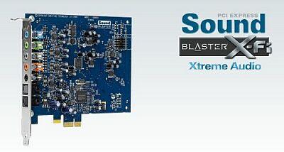 Sound Blaster X-Fi Xtreme Audio переходит на PCI Express x1