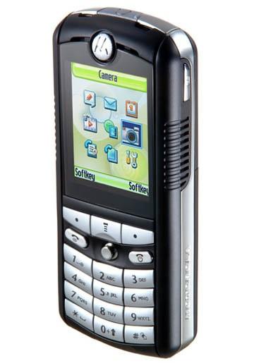Motorola E398 – первый