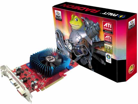 Видеокарта Palit Radeon HD 3850.