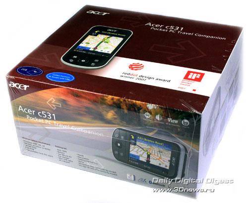 Acer c531 Упаковка