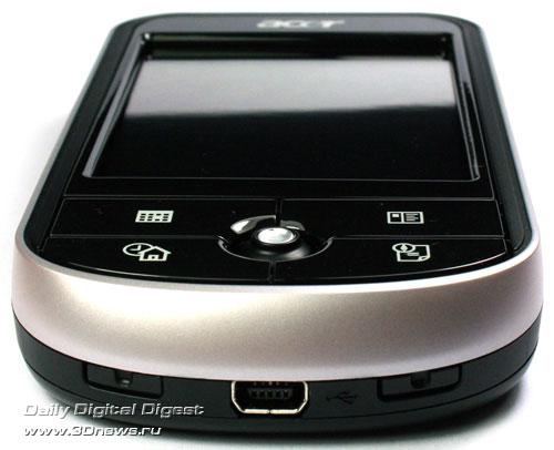 Acer c531 Нижний торец