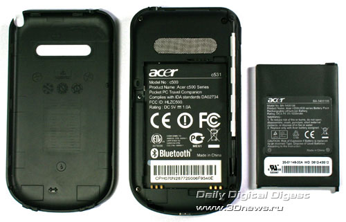 Acer c531 Аккумулятор