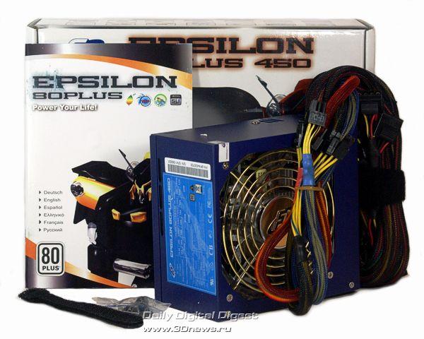 Комплект FSP Epsilon 80PLUS 450W