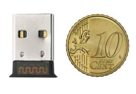 rust Ultra Small Bluetooth 2.0 USB