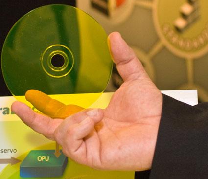 CES 2008: Mempile обещает сохранить 1 Тб данных на одной болванке