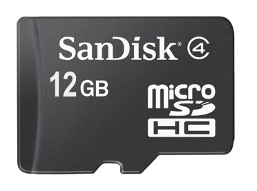 Карта памяти MicroSD HC от SanDisk