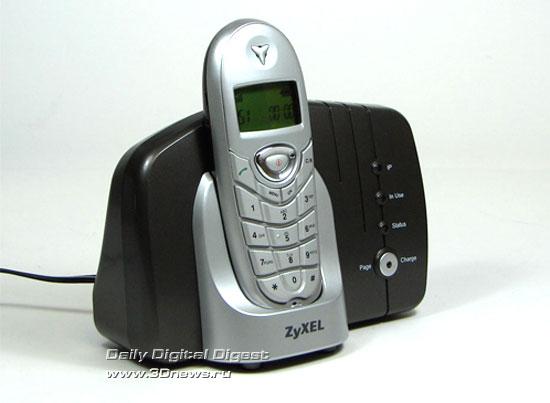 ZyXEL P-2300RDL – вид спереди