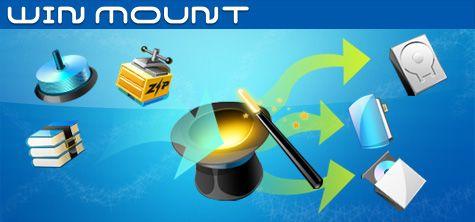 WinMount 3.2.1202: быстрая работа с архивами