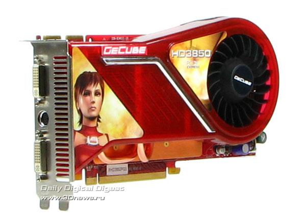 GeCube HD3850