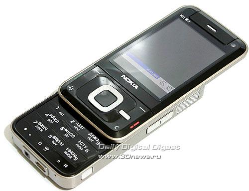 Nokia N81. Вид общий
