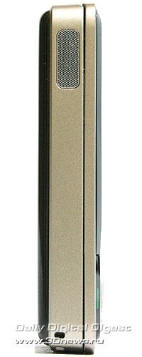 Nokia N81. Вид слева