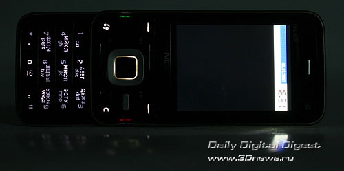 Nokia N81. Цифровая клавиатура