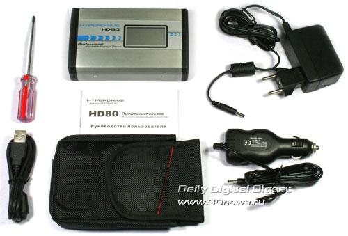 комплектация HyperDrive HD80