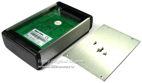 Установка жёсткого диска HyperDrive HD80