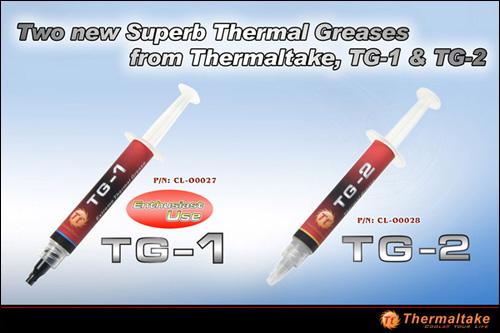 Thermaltake TG-1 and TG-2