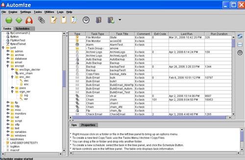 Hitek Software.  Обновилась программа для планирования и автоматизации заданий.  Automize может выполнять многие...