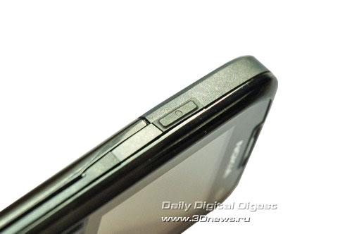 Nokia E51 Левый торец