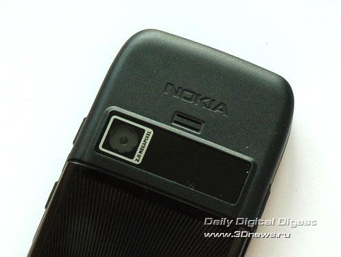 Nokia E51 Объектив встроенной камеры