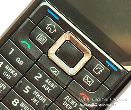 Nokia E51 Клавиатура