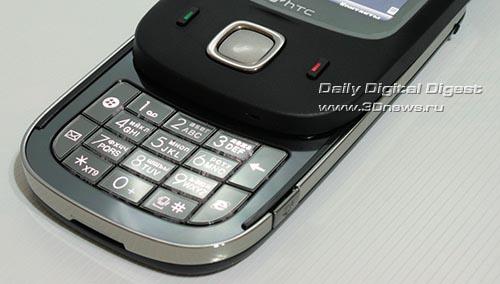 HTC Touch Dual. Внутренний клавиатурный блок.
